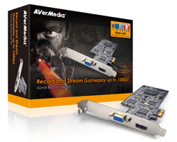 AVerMedia Game Broadcaster HD, record and stream gameplay up to 1080p