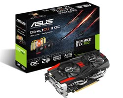 Picture of Asus nVidia GeForce GTX 760 DirectCU II OC 2GB