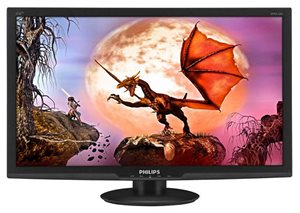 "Picture of Philips 27"" 273E3LHSB/75 BLACK LED - 1MS / 1920x1080 / VGA / DVI / HDMI"