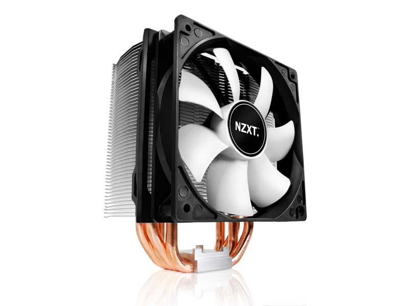 NZXT 120mm Sleeve Direct Touch 4 Heat Pipe CPU Cooler (RC-RST40-01)