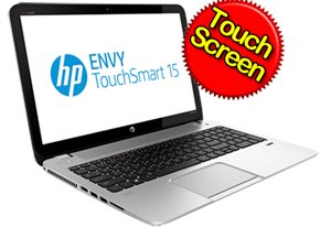 "Picture of HP ENVY TouchSmart 15-J003TU(E3B21PA) - I5 3230M, 4GB, 500GB, 15.6"" TOUCH, Win 8"