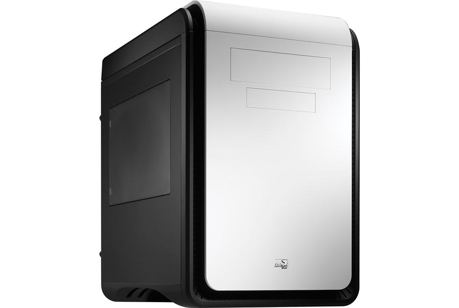 Aerocool DS Cube Window Black/White Mini ATX Case