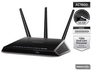 Picture of Netgear AC1900 Nighthawk Smart WiFi Router