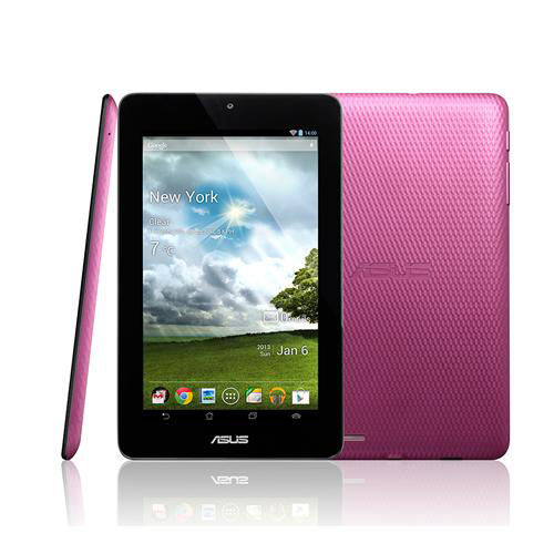 "Asus Google Memo Pad VIA WM8950 Dual Core(ME172V-1G092A) - 7"" LED Backlight WSVGA - 1GB RAM - 16GB SSD - Android 4.1 Jelly Bean - PINK"