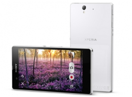 "Picture of SONY XPERIA Z WHITE ANDRIOD OS 5"" TOUCH 1.5GHZ QUAD CORE 16GB 13MP WIFI 4G LTE"