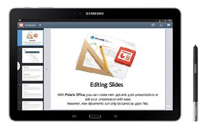 "Picture of Samsung Galaxy Note™ 10.1"", QC-1.9GHz, 16GB, Wi-Fi, Bluetooth, Android 4.3, S Pen - Black"