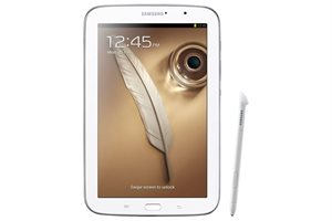 "Picture of Samsung Galaxy Note™ 8"", QC-1.6GHz, 16GB, Wi-Fi, Bluetooth, Android 4.1.2, S Pen - White"