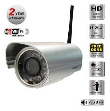 Foscam (FI9804W) 1 MP 720p H.264 Outdoor Wireless IP Camera