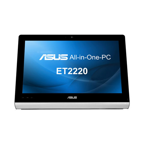 "Asus (ET2220IUTI-B064K) 22"" LED Full Multi Point Touch - Intel Pentium G645, 4GB RAM 1TB Intel HD Graphics HDMI DVDRW Windows 8"