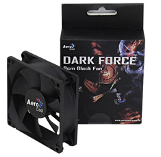 Aerocool Dark Force 80mm Black Fan