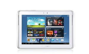 "Picture of Samsung Galaxy Note 10.1"", Quad-Core-1.4GHz, 16GB Storage, WiFi, Bluetooth, 3G, Android 4.0, S/Pen, White"