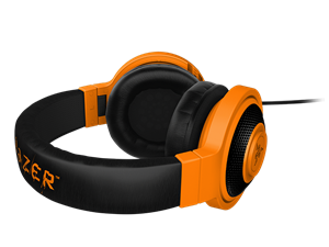 Razer Kraken Neon Headphones Orange 1.3M Cable Length $52