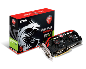 Picture of MSI GTX 780 Overclocked 3GB GDDR5 Twin-Frozr Cooling
