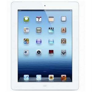 Picture of Apple iPad 64GB With Retina Display -  Wi-Fi Model, White with FREE STYLUS PEN