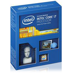 Picture of Intel Core i7 5930k Haswell-E 6-Core LGA 2011-3 3.5GHz CPU