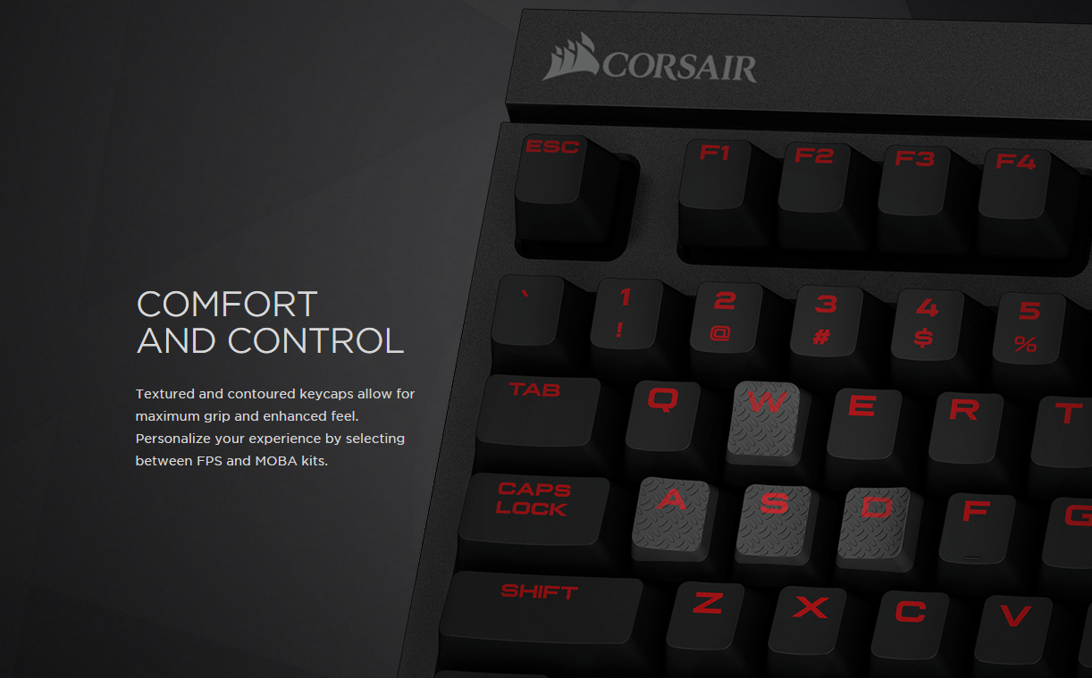 Corsair Gaming Strafe Mechanical Keyboard Cherry Mx Red Led Try Watching This Video On Youtubecom Or Enable Javascript If It Is Disabled In Your Browser