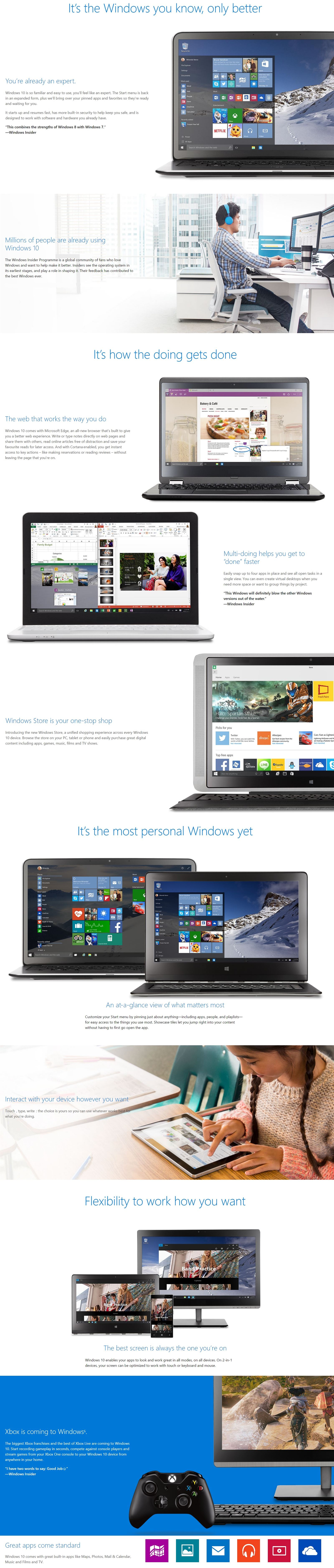 Microsoft Windows 10 Home 64-Bit OEM With DVD - English