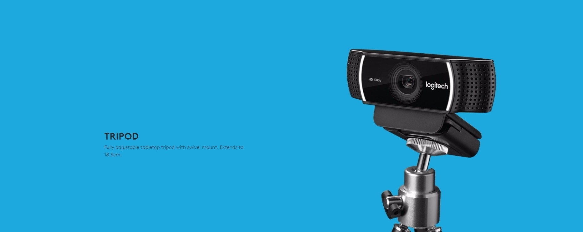 Logitech C922 Pro Stream Webcam (960-001090)