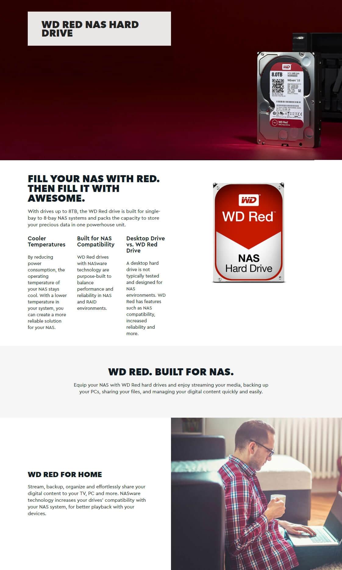 Western Digital Red 1TB 3 5