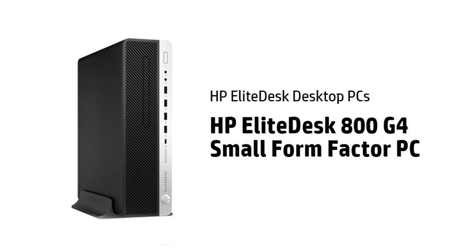 HP EliteDesk 800 G4 SFF Intel Core i7 Desktop PC