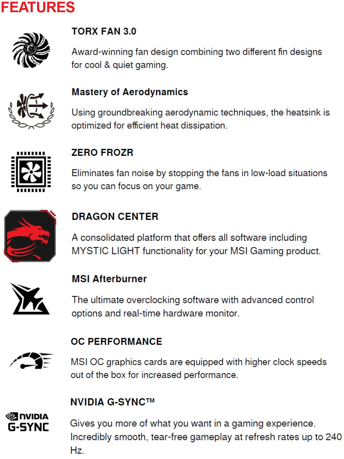 MSI GeForce GTX 1650 GAMING X 4G Graphics Card
