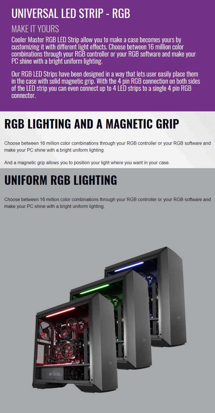 Cooler Master Universal RGB LED Strip