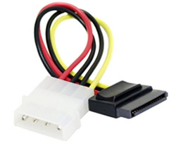 Serial ATA (SATA) Power Cable