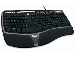 Microsoft Natural Ergonomic 4000 USB keyboard
