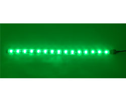 Bitfenix Alchemy Connect Green LED Strips- 600mm, Green color, 30x LEDs