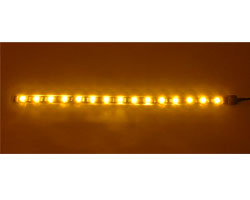 Bitfenix Alchemy Connect Orange LED Strips- 300mm, Orange color, 15x LEDs