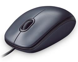 Logitech M90 Optical Mouse - Black