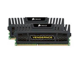 Corsair DDR3 8GB (2x Vengeance 4GB) 1600MHz CL9 (CMZ8GX3M2A1600C9)