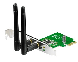 ASUS PCE-N15 300Mbps Wireless N PCIe Adaptor