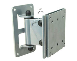 Brateck LCD Swivel Wall Mount Bracket Vesa 75/100mm up to 30 Kg