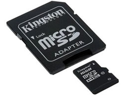 Kingston 16GB microSDHC Class 10 Card (SDC10/16GB)