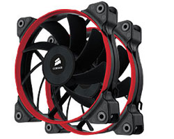 Twin Pack - Corsair Air Series AF120 Performance Edition High Airflow 120mm Fan