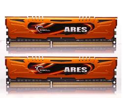 G.Skill DDR3 16GB (2x8GB) PC-12800/1600 Ares GS-F3-1600C10D-16GAO