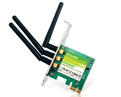 TP-Link TL-WDN4800 450Mbps Wireless N900 Dual Band PCI Express Adapter