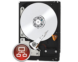 "Western Digital 2TB Red 3.5"" Internal Hard Drive WD20EFRX"