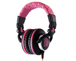 TteSports by Thermaltake Chao Dracco Premium Headset - PINK