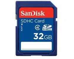 Sandisk 32GB SDHC CL4 (SDSDB-032G-BQ35)