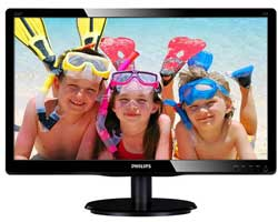 "Philips 21.5"" 226V4LAB BLACK LCD (226V4LAB)"