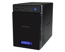 Netgear ReadyNAS 104 4-Bay Diskless.