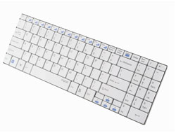Rapoo Wireless Ultra-slim Keyboard E9070 - White