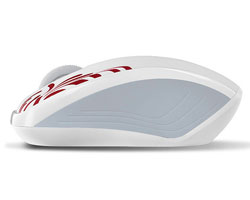 Rapoo 3100P Wireless Optical Mouse - White