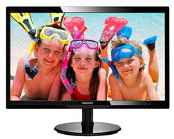 "Philips 24"" 246V5LHAB BLACK LED 5MS / 1920x1080 / D-Sub / HDMI / SPK"