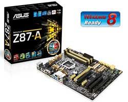 Asus Z87-A Intel Mainboard - LGA 1150