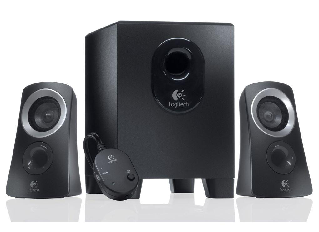 Logitech Z313 2.1 Speakers - Black