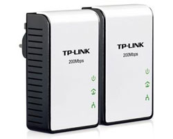 TP-Link TL-PA211KIT AV200 Mini Powerline Adapter Starter Kit