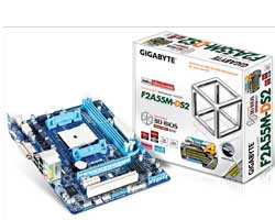 Picture of Gigabyte GA-F2A55M-DS2 AMD Mainboard - FM2